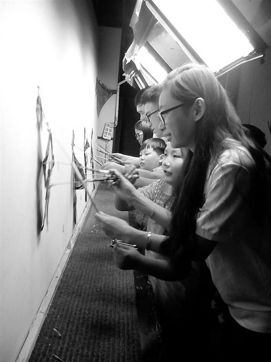 小学生制作简易皮影戏-儿童手工皮影制作图片-皮影-小