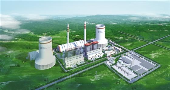 6亿元,由广东电力设计研究院设计,共建设2台35万千瓦国产超临界燃煤