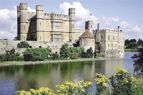 欧式英国城堡都市街景