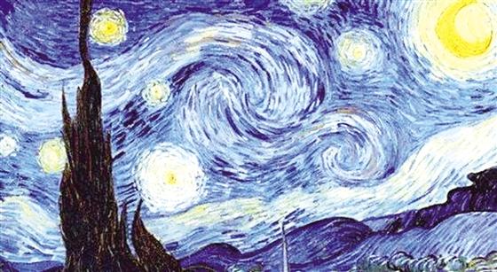 欧空局发布星空图像酷似梵高名画《星夜》晋中晚报多图片
